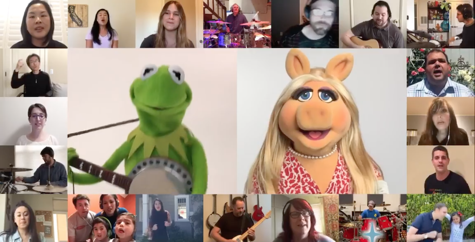 """Featured image for """"Brave Little Spark – A song composed & produced by Yaron Spiwak, featuring the Walt Disney Imagineers with Kermit and Mrs. Piggy during the COVID-19 time"""""""